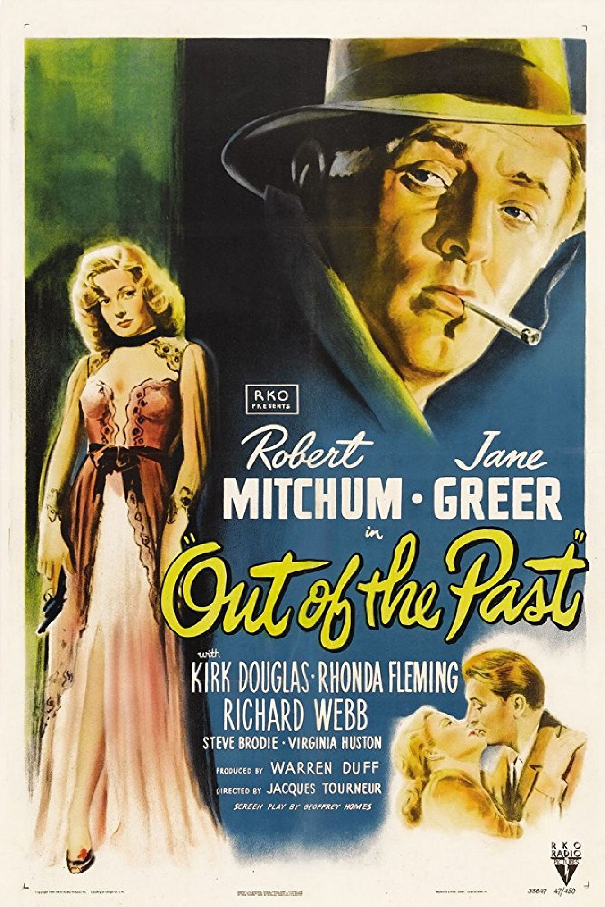 'Out Of The Past' movie poster