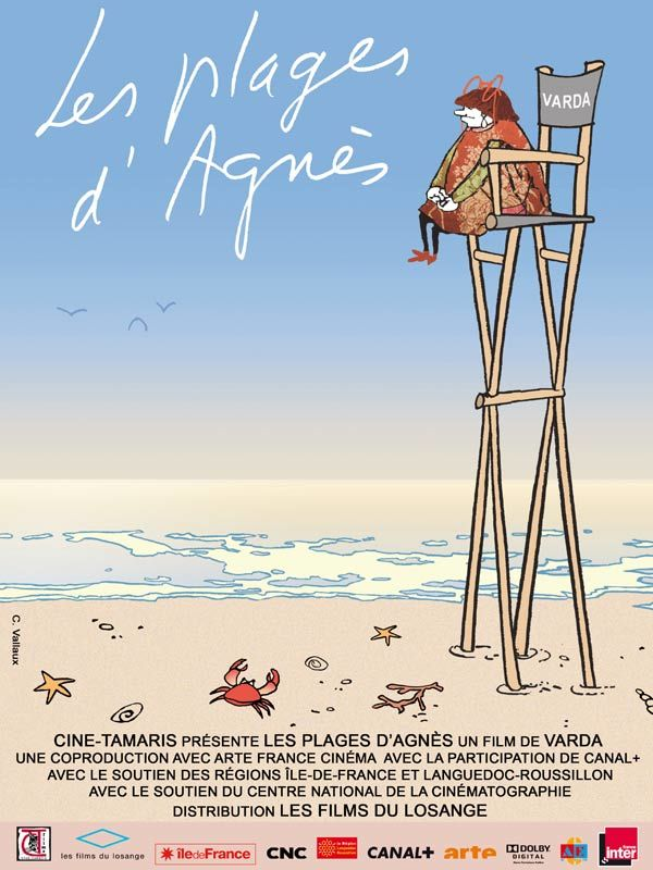 'The Beaches Of Agnes (Les Plages D'Agnes)' movie poster
