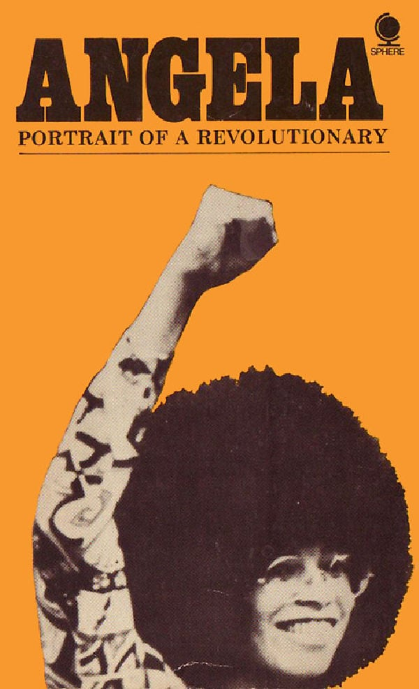 'Angela Davis: Portrait Of A Revolutionary' movie poster