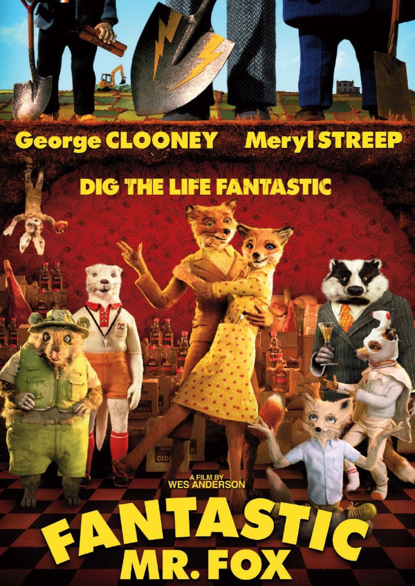 'Fantastic Mr. Fox' movie poster