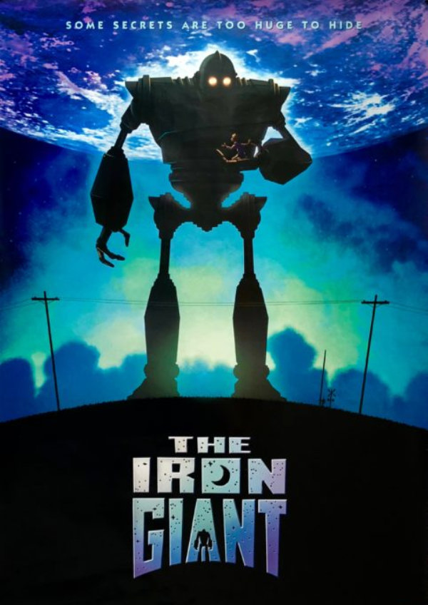 'The Iron Giant' movie poster