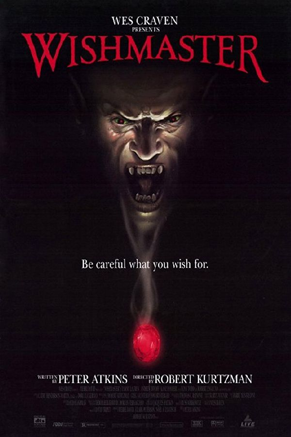 'Wishmaster' movie poster