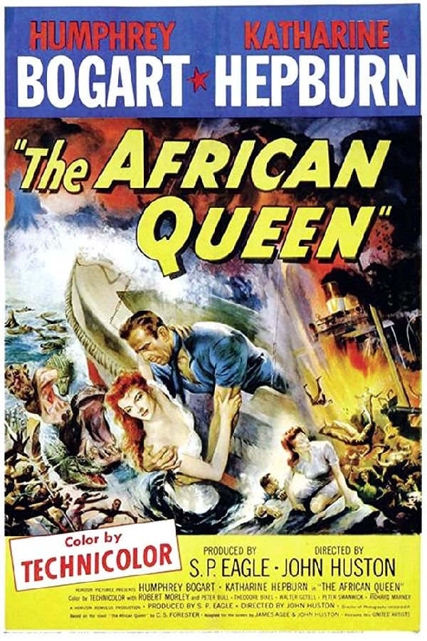 'The African Queen' movie poster