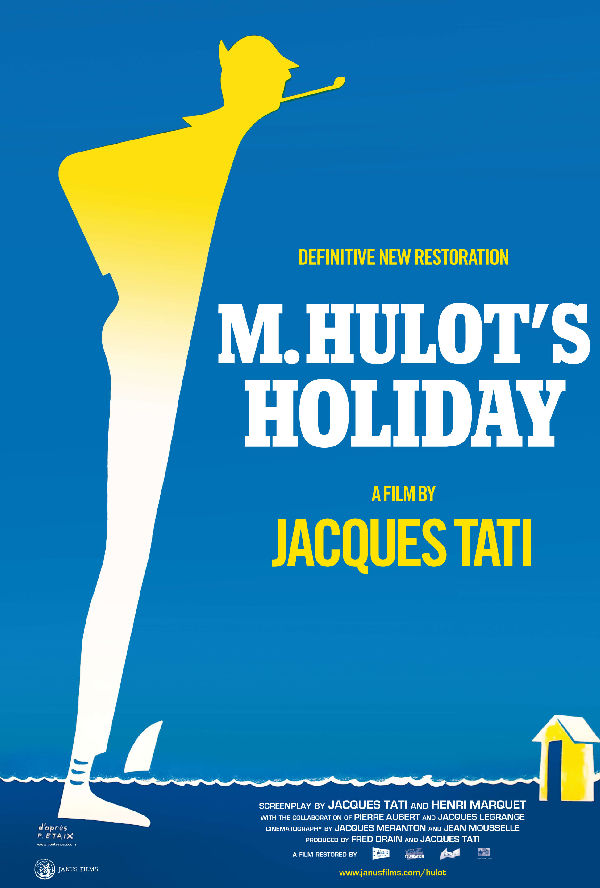 'Monsieur Hulot's Holiday' movie poster