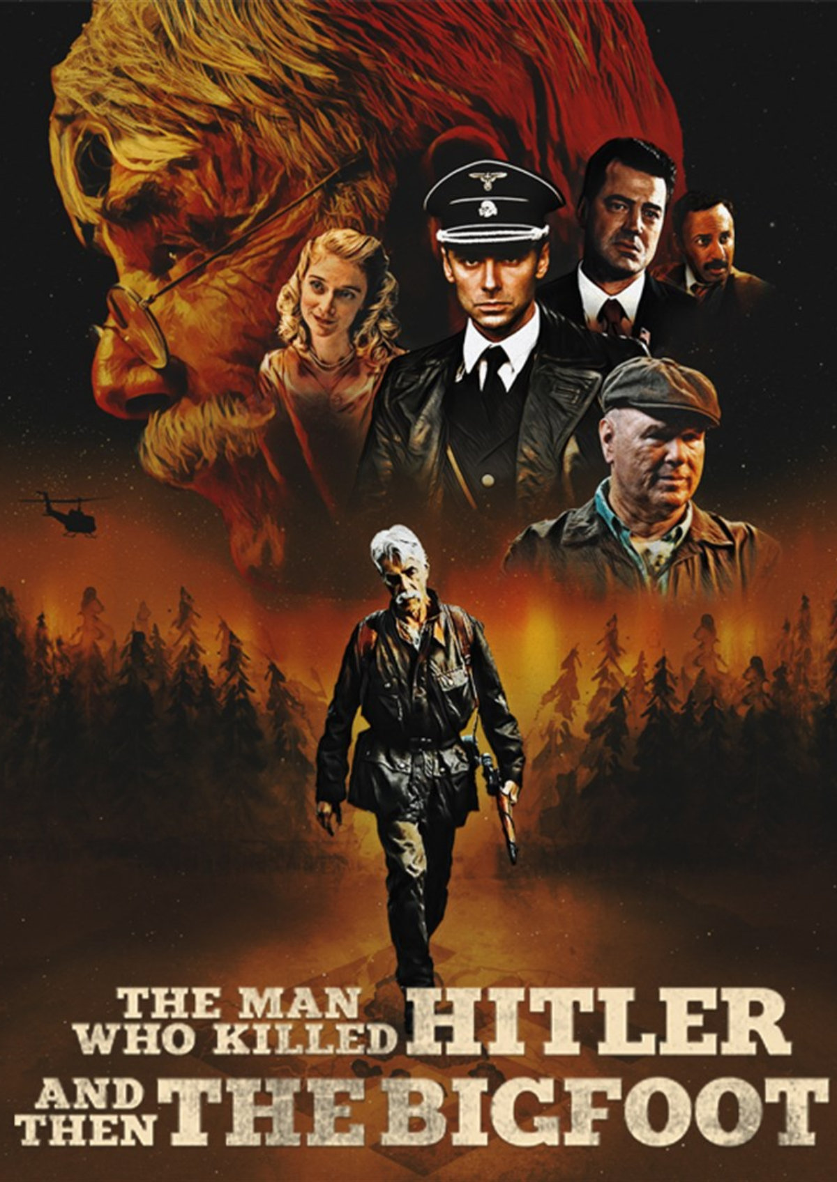 'The Man Who Killed Hitler And Then The Bigfoot' movie poster