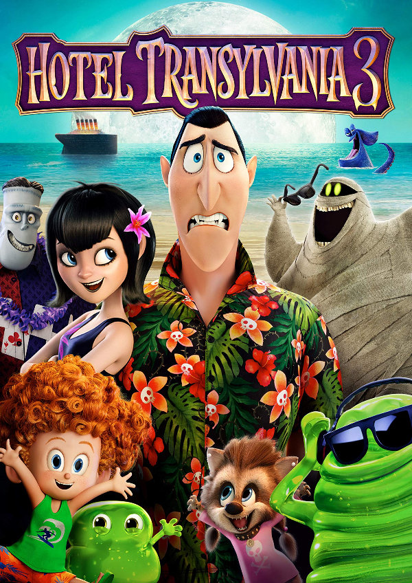 'Hotel Transylvania 3: A Monster Vacation' movie poster