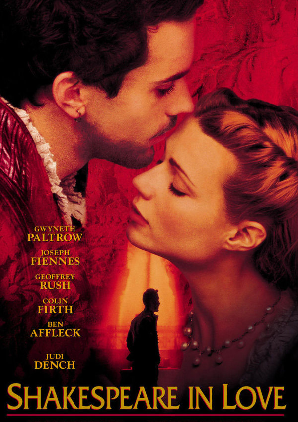 'Shakespeare In Love' movie poster