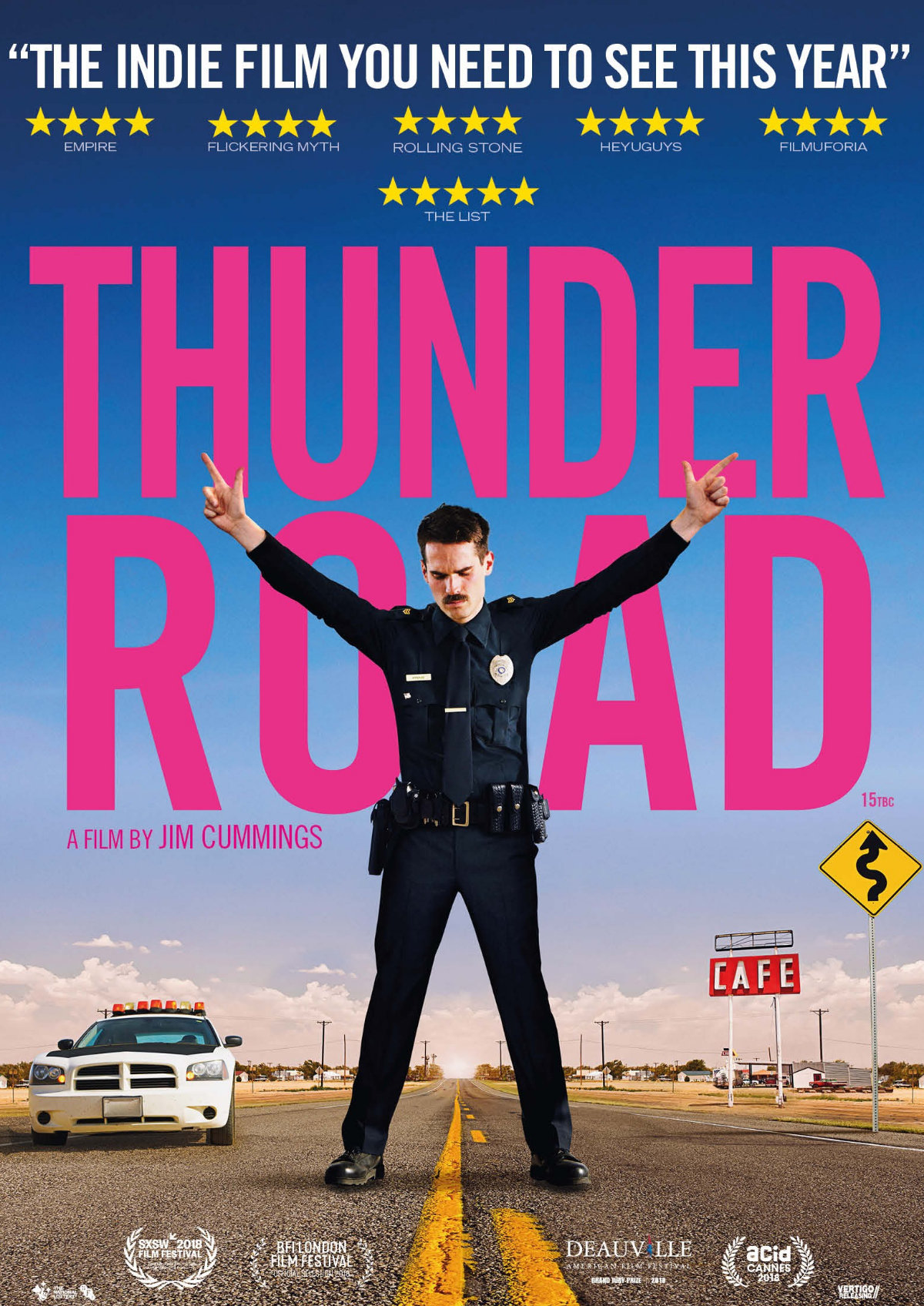 'Thunder Road' movie poster