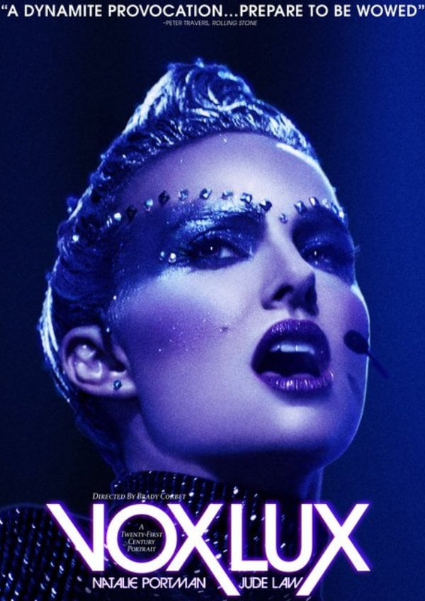 'Vox Lux' movie poster