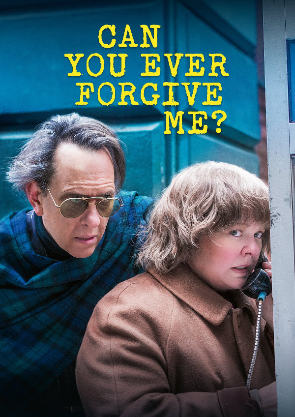 'Can You Ever Forgive Me?' movie poster