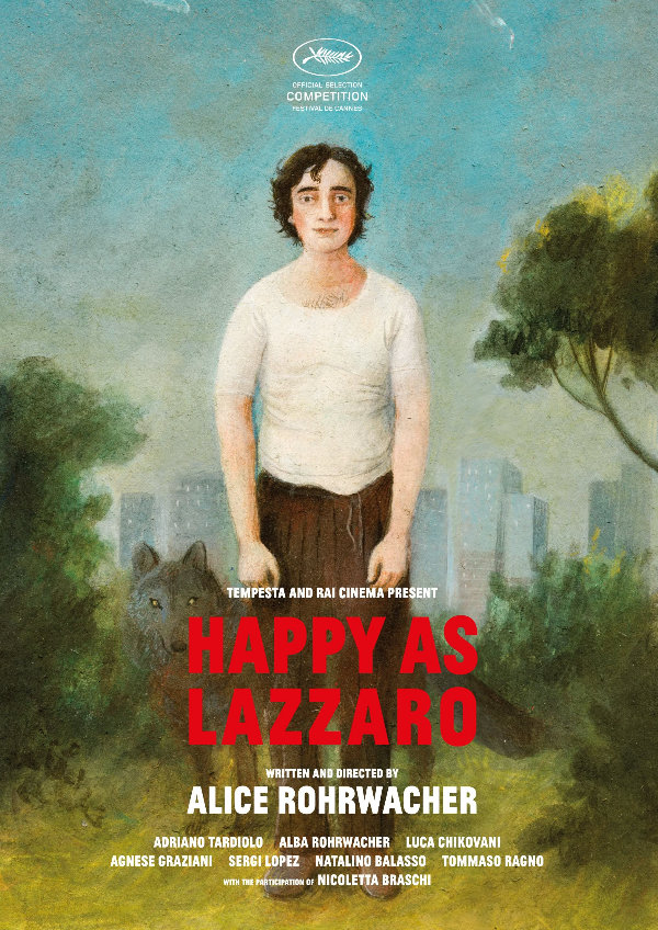 'Happy As Lazzaro' movie poster