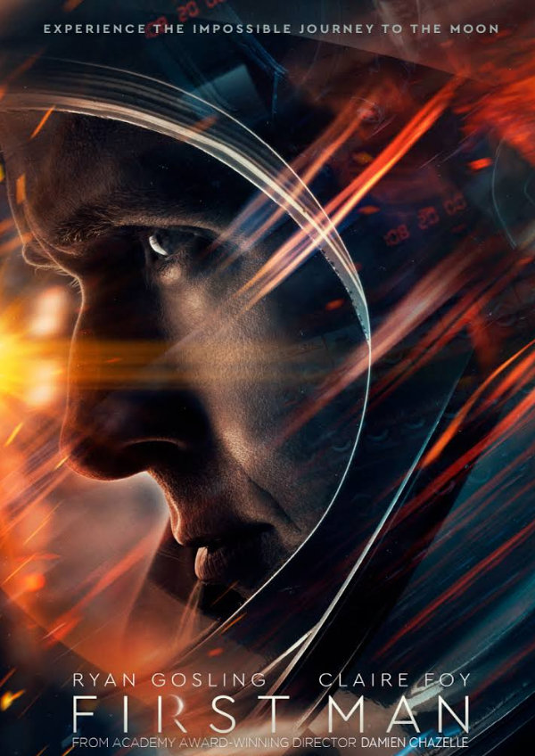 'First Man' movie poster