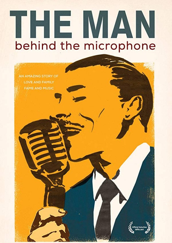 'The Man Behind The Microphone' movie poster