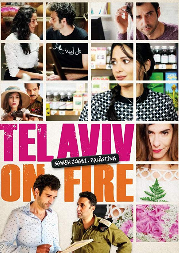 'Tel Aviv On Fire' movie poster
