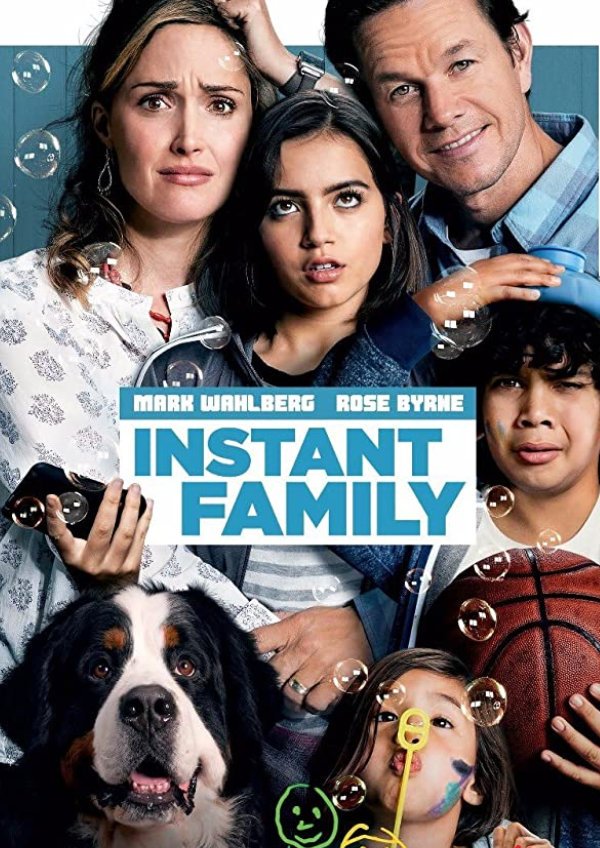 'Instant Family' movie poster