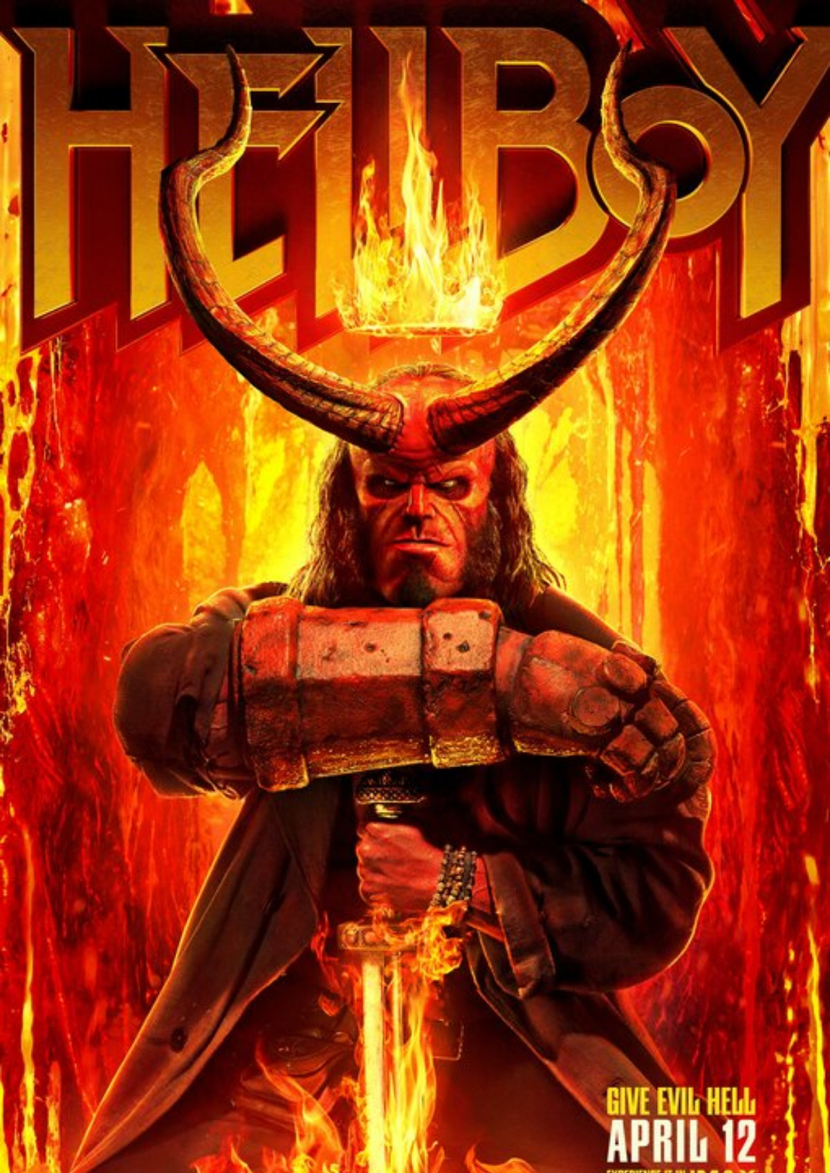'Hellboy (2019)' movie poster