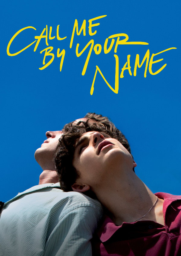 'Call Me By Your Name' movie poster