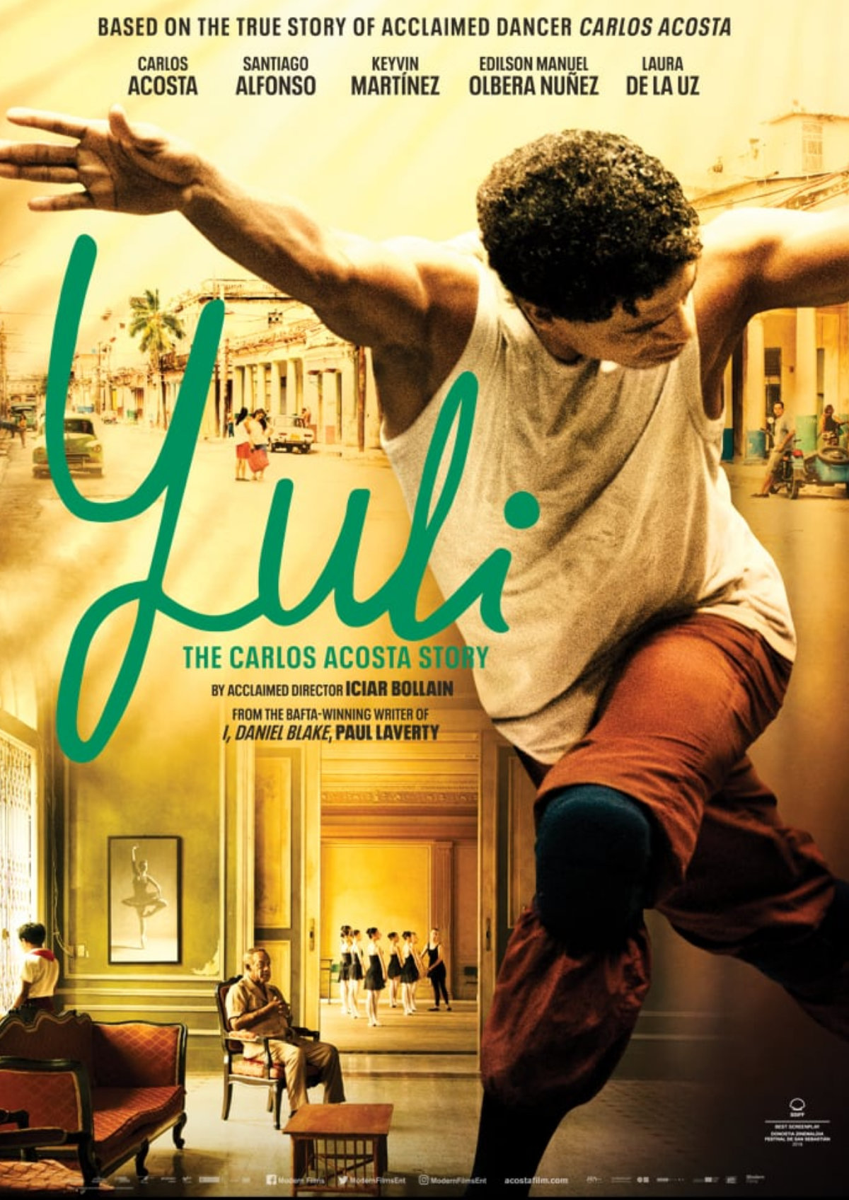 'Yuli: The Carlos Acosta Story' movie poster