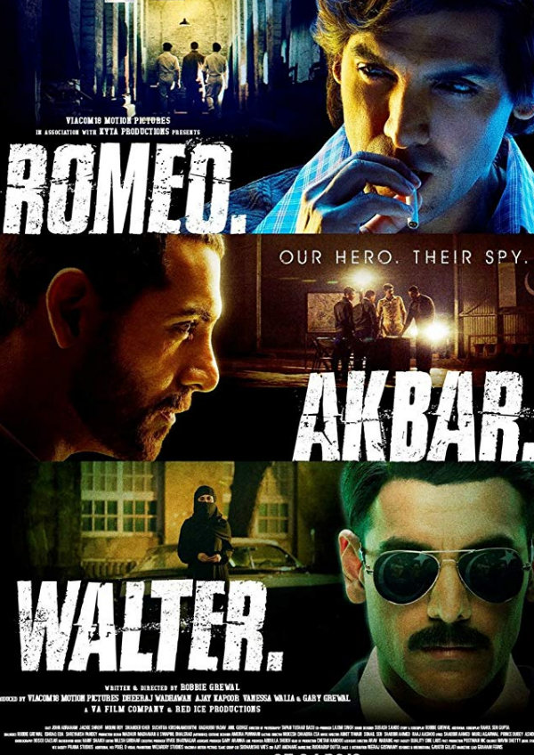 'Romeo Akbar Walter' movie poster