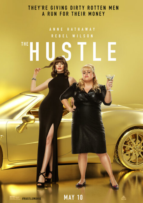 'The Hustle' movie poster