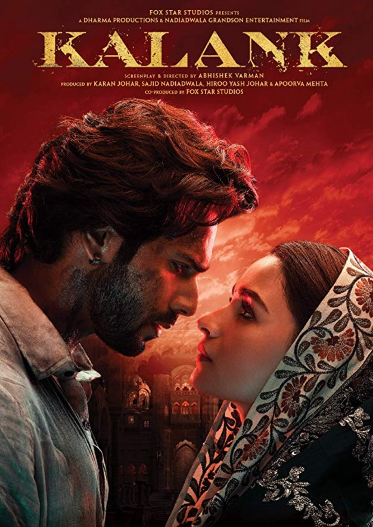 'Kalank' movie poster