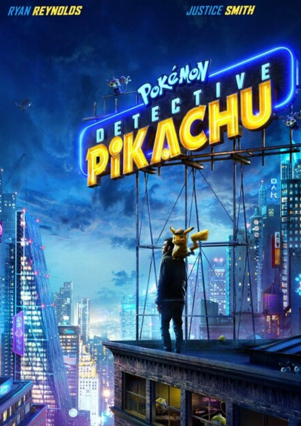 'Pokémon: Detective Pikachu' movie poster