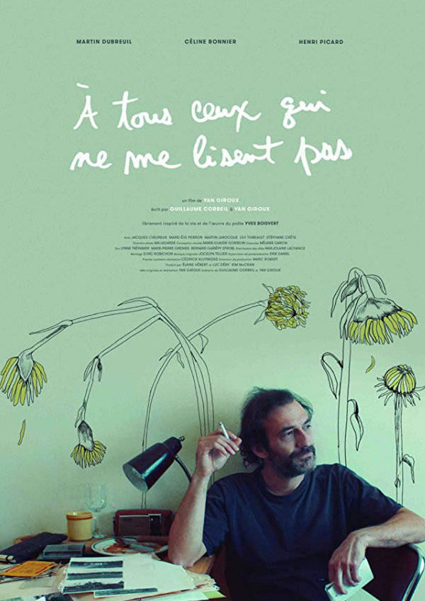 'For Those Who Don't Read Me (À Tous Ceux Qui Ne Me Lisent Pas)' movie poster