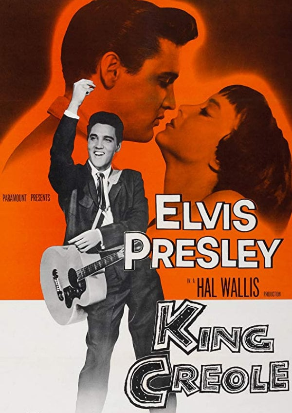 'King Creole' movie poster