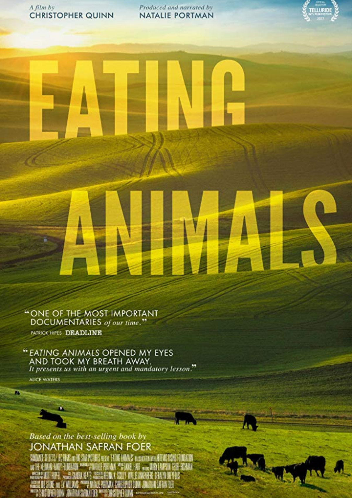 'Eating Animals' movie poster