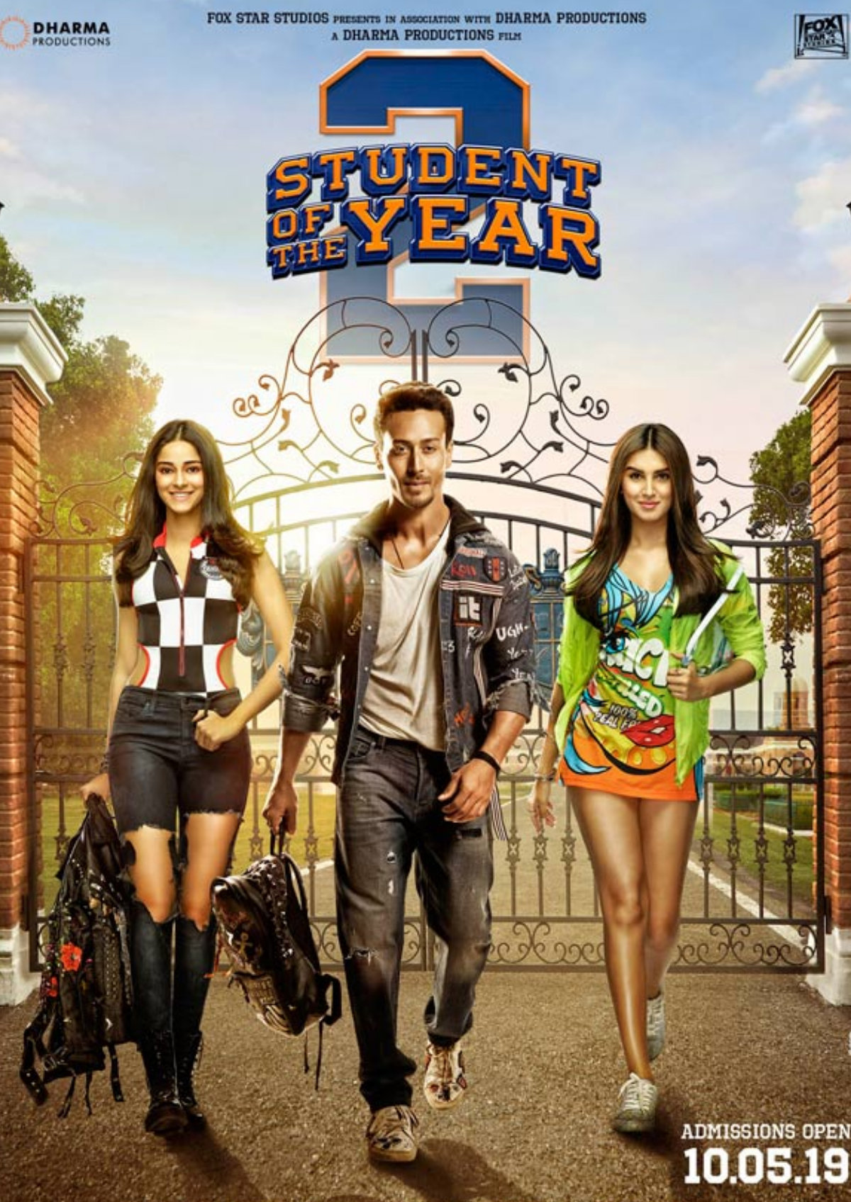'Student Of The Year 2' movie poster