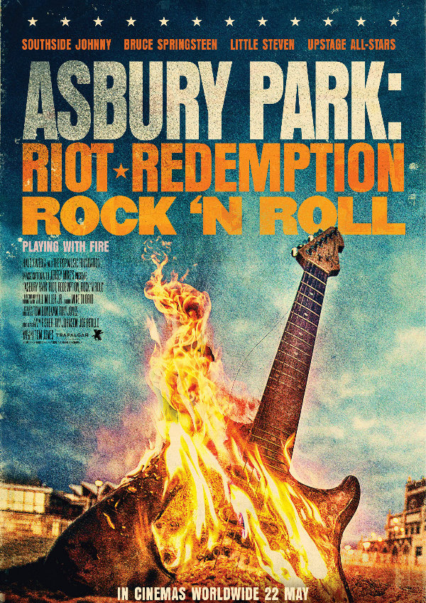 'Asbury Park: Riot, Redemption, Rock & Roll' movie poster