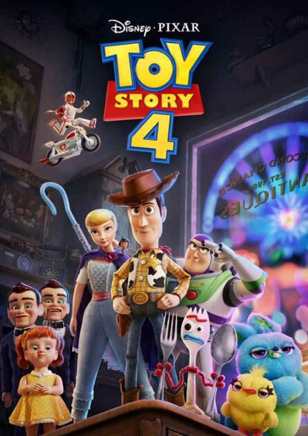 'Toy Story 4' movie poster