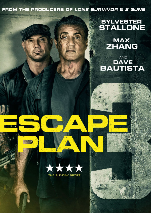 'Escape Plan 3: The Extractors' movie poster