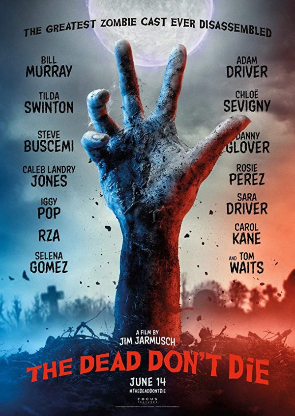 'The Dead Don't Die' movie poster