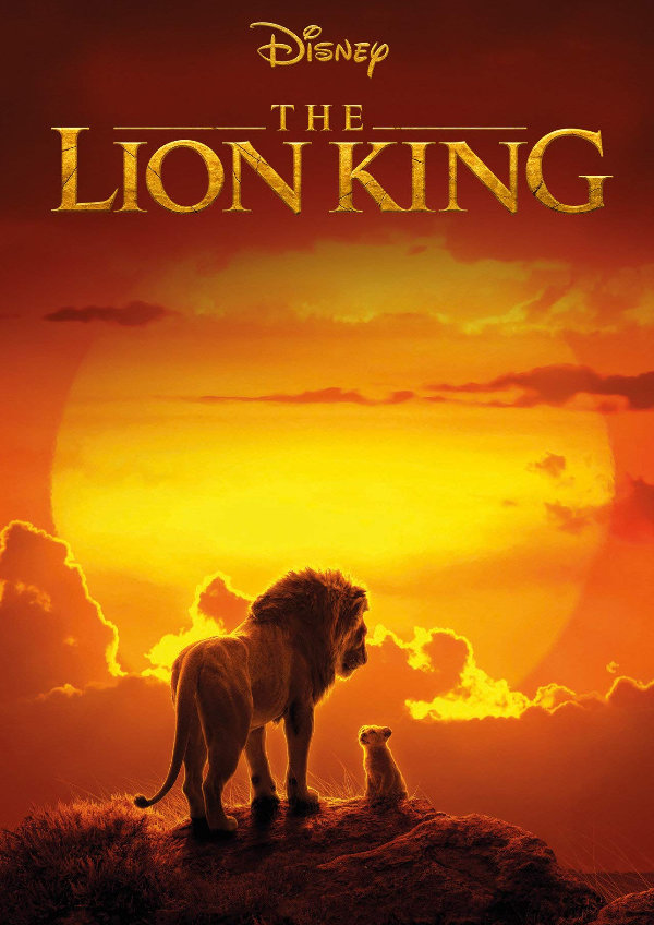 'The Lion King (2019)' movie poster