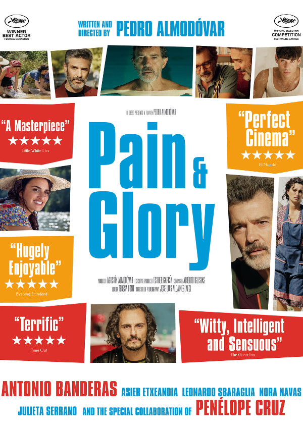 'Pain and Glory' movie poster