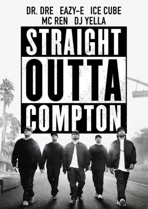 'Straight Outta Compton' movie poster