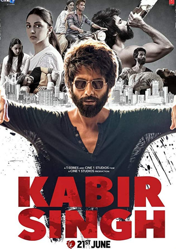 'Kabir Singh' movie poster