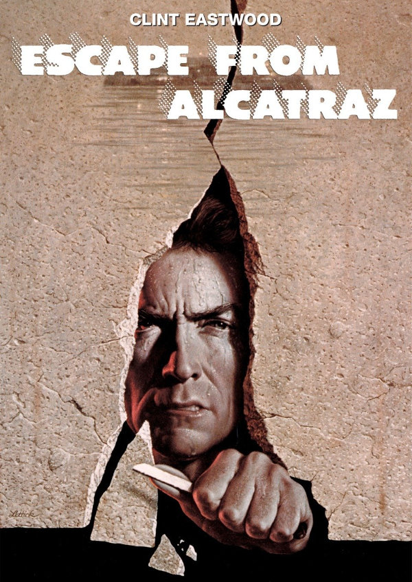 'Escape From Alcatraz' movie poster