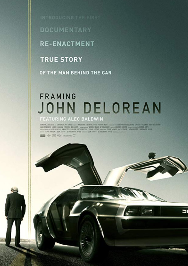 'Framing John DeLorean' movie poster