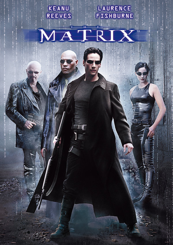 'The Matrix' movie poster