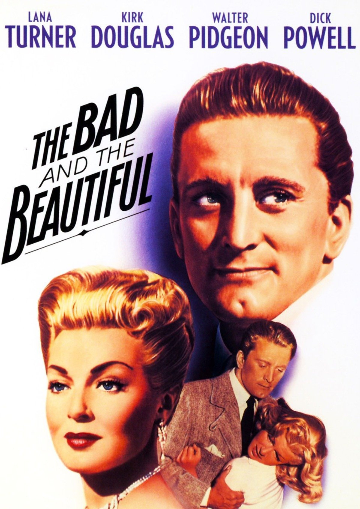 'The Bad And The Beautiful' movie poster