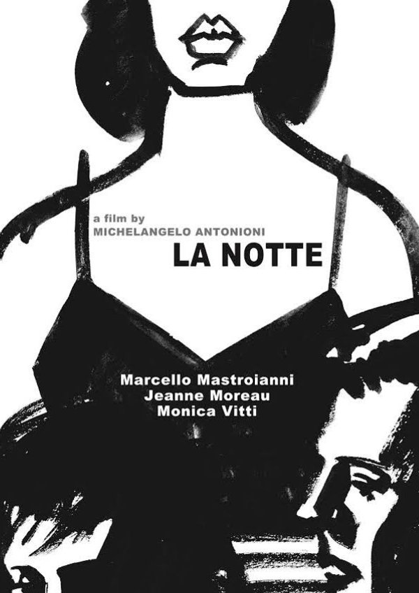 'La Notte' movie poster