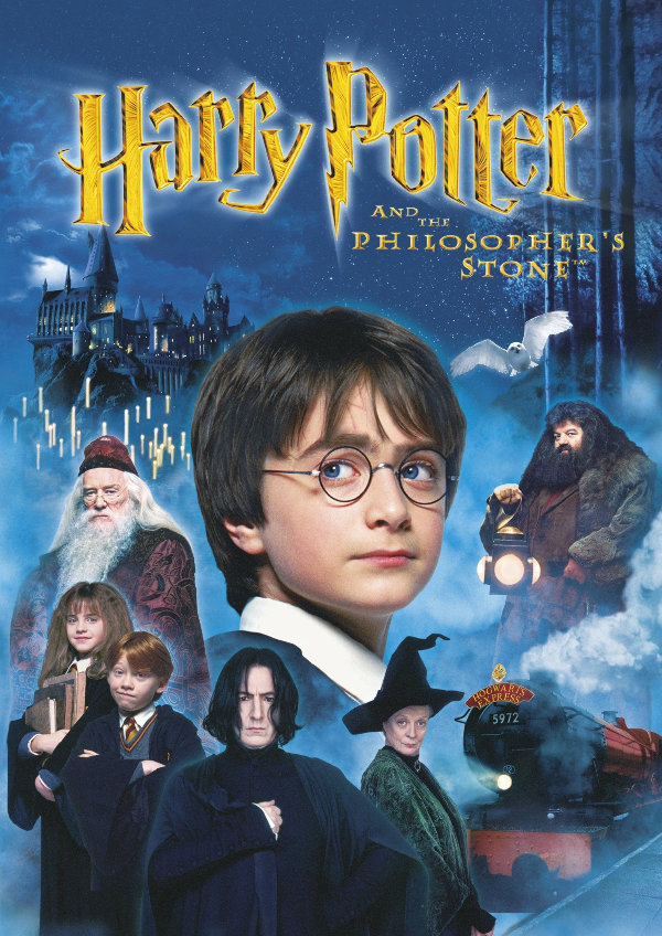 'Harry Potter And The Philosopher's Stone' movie poster