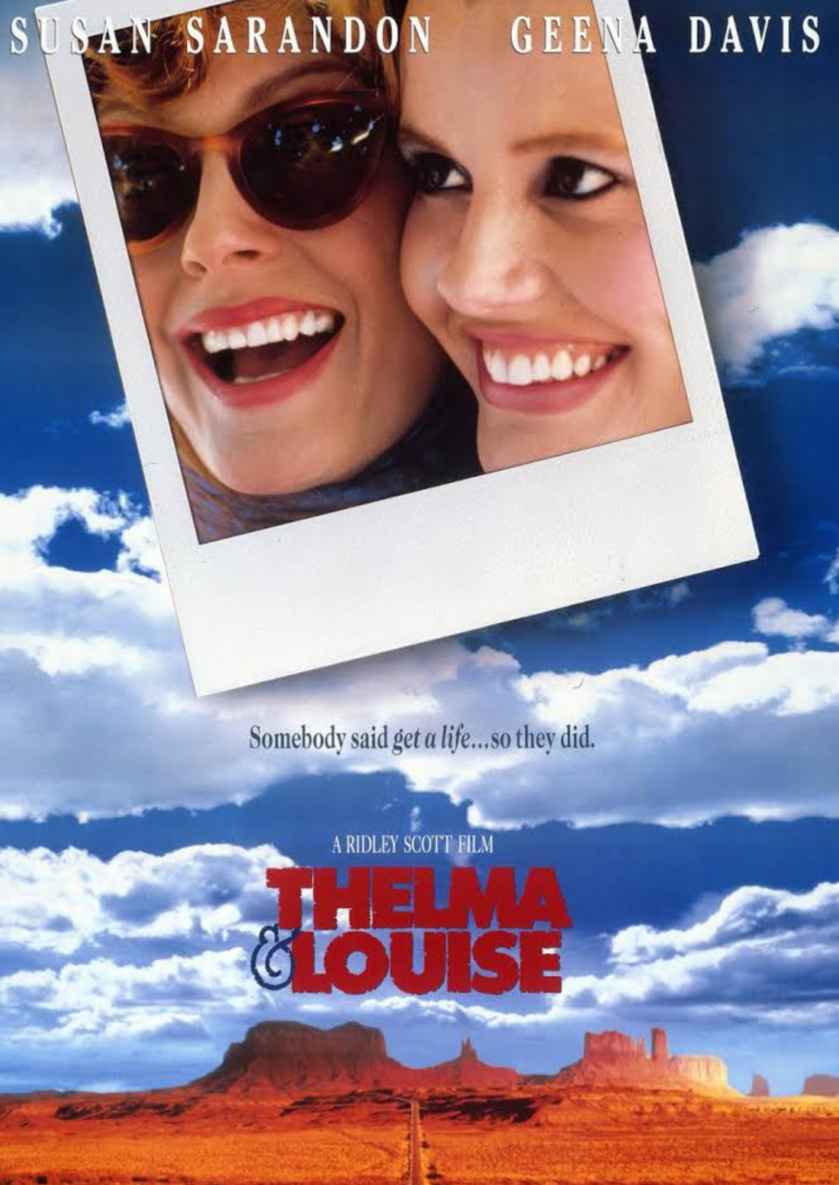 'Thelma And Louise' movie poster