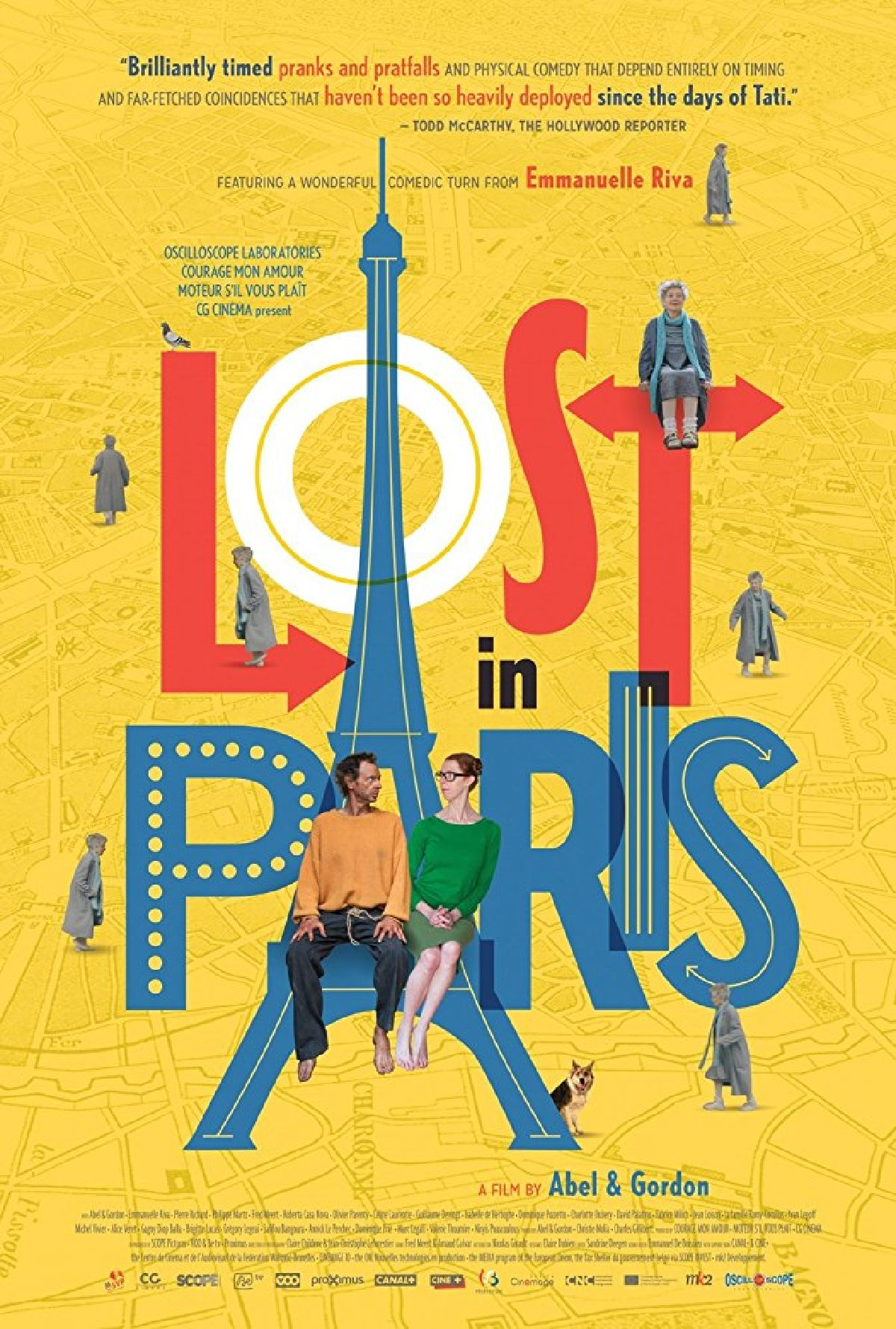'Lost In Paris' movie poster