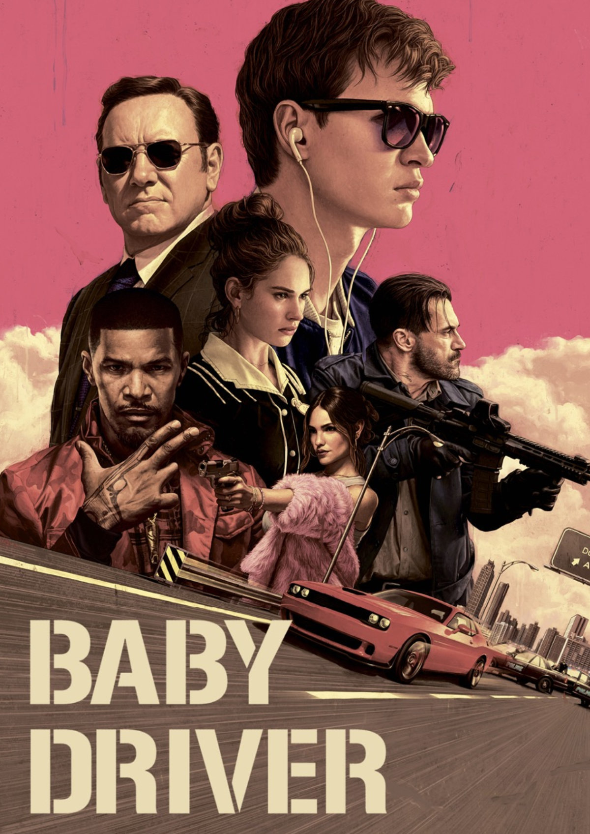'Baby Driver' movie poster