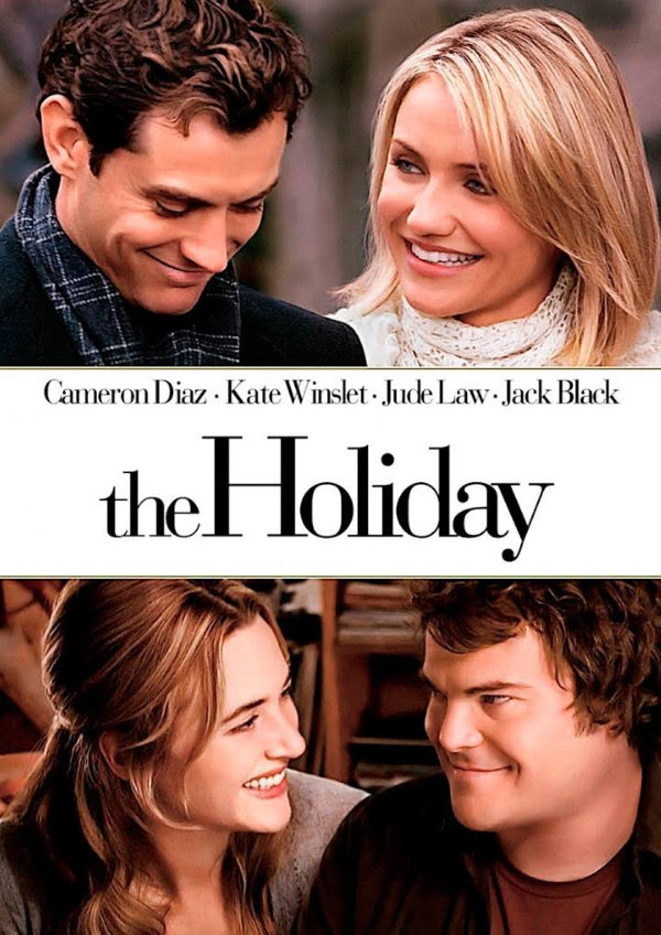 'The Holiday' movie poster