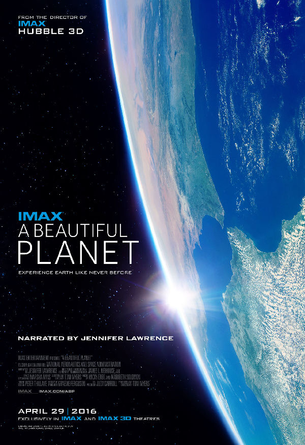 'A Beautiful Planet 3D' movie poster