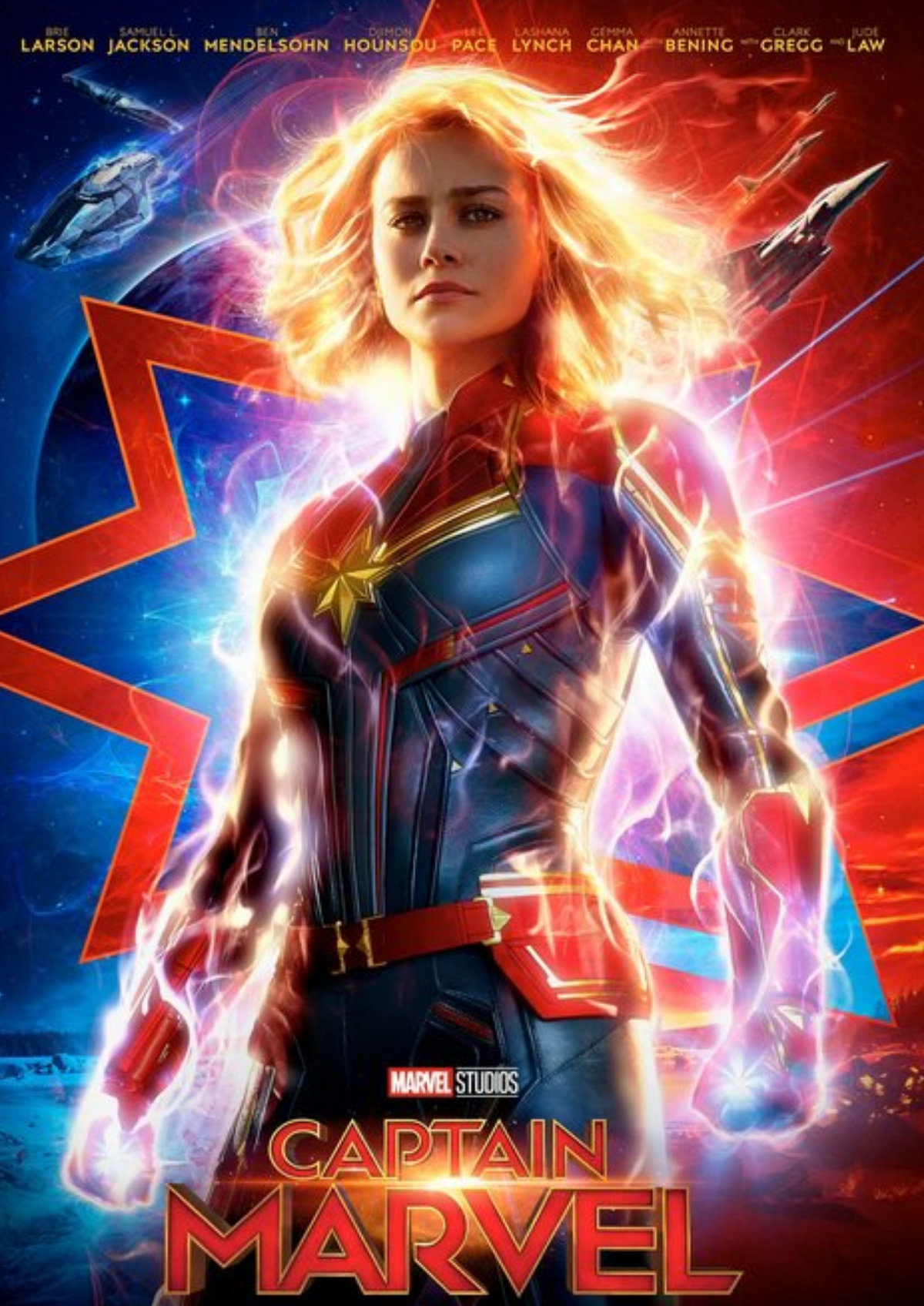 'Captain Marvel' movie poster
